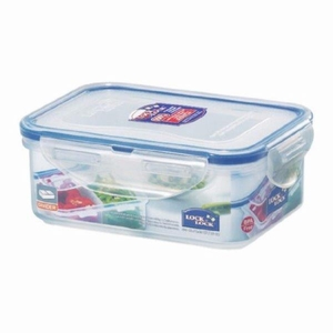 RECT. Short Food Container 460ml W/tray