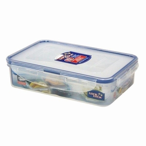 RECT. Short Food  Container 800ml W/divider