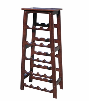Remscheid Wine Rack, Exquisitely Etched Sturdy Utility Stand