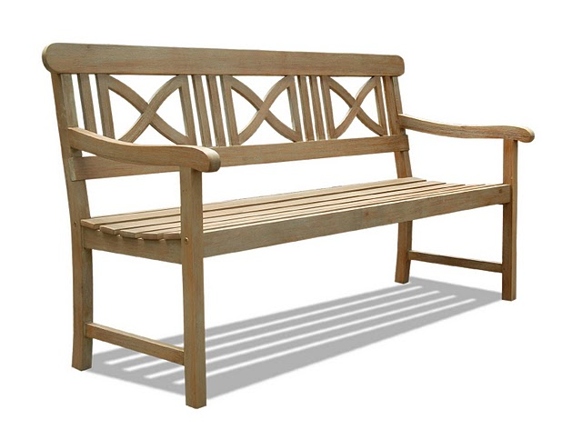 Buy renaissance outdoor hardwood bench by vifah for Wild orchid furniture