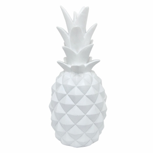 Resin Pineapple Decoration - Large  by Benzara