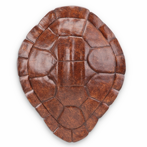 Buy resin turtle shell wall hanging art decor in burgundy for Resin wall art