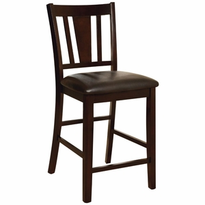 Reyes 2 PC Upholstered Seat Counter Height Side Chair