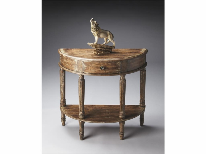 Buy river walk demilune console table 31 5 w by butler for Wild orchid furniture
