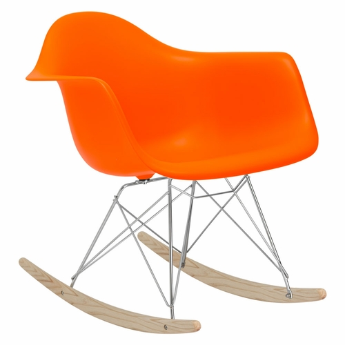 Buy Rocker Lounge Chair in Orange at wildorchidquilts