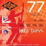 Rotosound RS77M Monel Flatwound  Bass Guitar Strings (40 50 75 90)