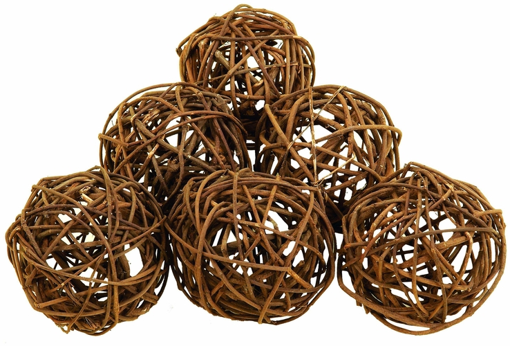 Wooden Decorative Balls Adorable Benzara 37215 Set6 Round Natural Decorative Bamboo Wood Balls At 2018