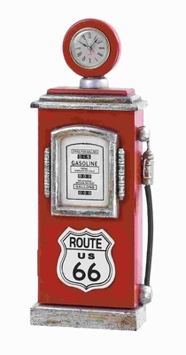 Route 66 Gas Pump Key Holder - 53555 by Benzara