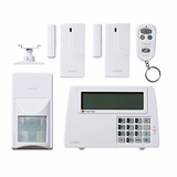 SABRE Home Expandable Wireless Burglar Alarm Security System