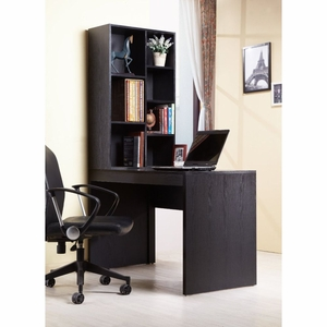 Saffia Transitional Design Book Case Desk Set
