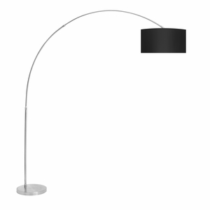 Salon Floor Lamp Black by Lumisource