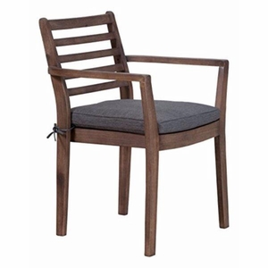 Sancerre Dining Chair Natural & Gray