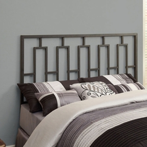Satin Black Queen / Full Size Combo Head / Footboard Only