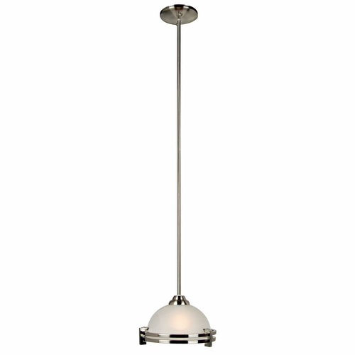 Buy sequoia collection chic looking 1 light mini pendant in satin nickel finish by yosemite home Home decorators collection mini pendant