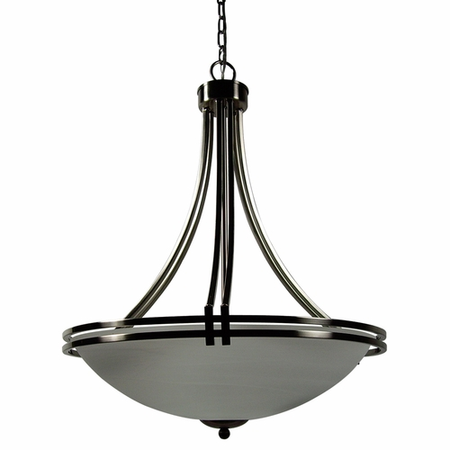 Buy Sequoia Collection Ravishing 4 Lights Pendant Lighting In Satin Nickel Finish By Yosemite