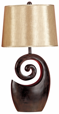 POLYSTONE TABLE LAMP FOR STYLISH LIGHT - 95642 by Benzara