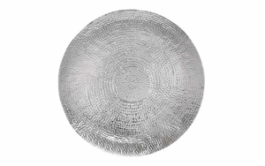 38057 Elegant Wall Sculpture Stainless Steel Wall Decor - 38057 by Benzara