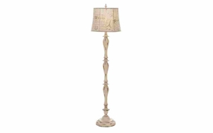 Unique Lamps - Polystone Floor Lamp - 95771 by Benzara