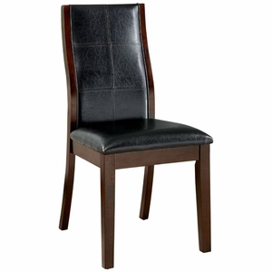 Shelby 2 PC Faux Leather Upholstered Side Chair