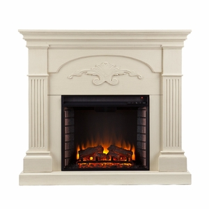 Sicilian Harvest Gel Fireplace - Mahogany