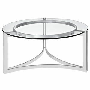 Silver Signet Stainless Steel Coffee Table