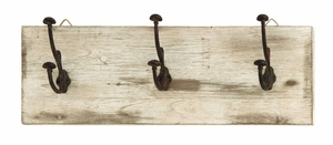 Cute And Impressive Wall Hooks With Rustic Nail Knobs - 68789 by Benzara