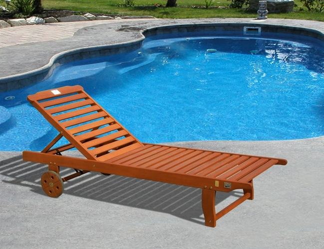 Buy single chaise lounge by vifah for Buy outdoor chaise lounge