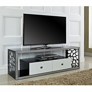 Skillfully Designed Modern Mosaic TV Stand by Walker Edison