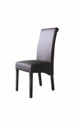 4D Concepts Sleek and High Back Parson's Chair with Smooth Finish