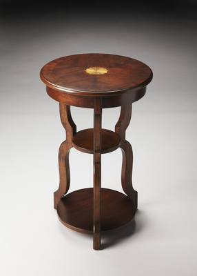 Sloane Plantation Cherry Tiered Accent Table by Butler Specialty