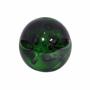 Small Glass Orb- Green
