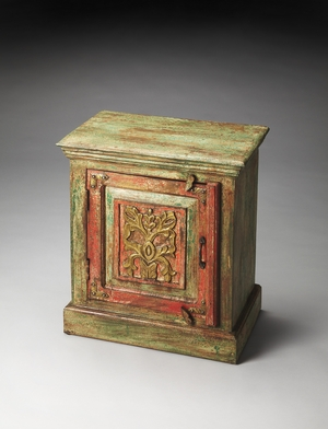 Smart Jaljira Hand Painted Accent Cabinet by Butler Specialty