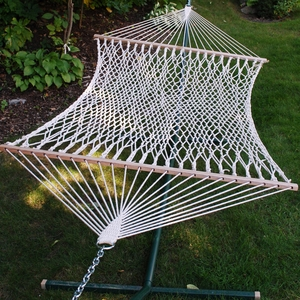 Smartly Styled 11' Cotton Rope Hammock by Algoma