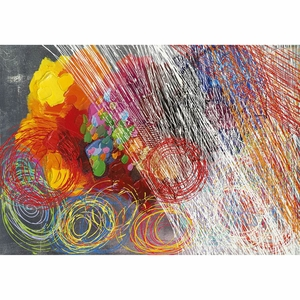Smartly Styled Cyclonic Abstraction II Artwork by Yosemite Home decor