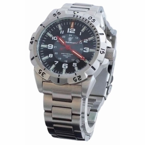 Smith & Wesson Emissary Watch - Silver - SWISS TRITIUM