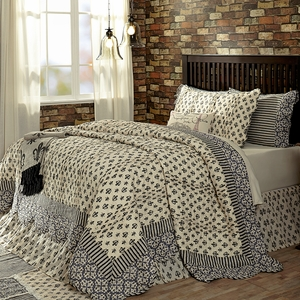 Soft and Heavenly Elysee King Quilt by VHC Brands