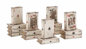 Sophisticated Playing Card Book Boxes ??? Assorted 16