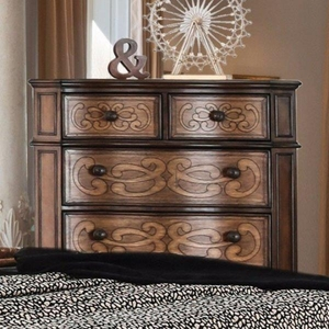 Spacious Chest In Warm Chestnut Finish