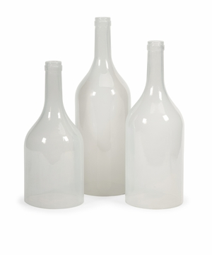 Spectacular Monteith Cloche Bottles - Set of 3