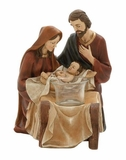 Splendid Holy Family Votive Holder