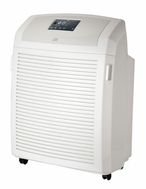 SPT-AC-2102-HEPA Air Cleaner with Activated Carbon, VOC, HEPA, and TiO2 filters and UV light by Sunpentown