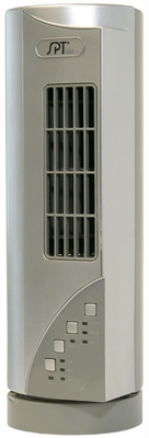 SPT-SF-1530i-Mini Tower Fan with Ionizer and 45 oscillation feature by Sunpentown