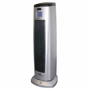 SPT-SH-1508-Tower Ceramic Heater with Ionizer by Sunpentown