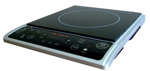 SPT-SR-964TS-1300W Induction in Silver (Countertop) by Sunpentown