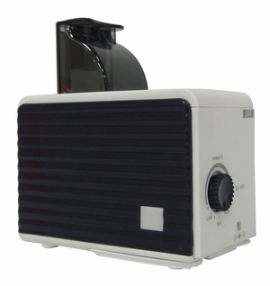 SPT-SU-1053B-Portable Humidifier in Black and White by Sunpentown