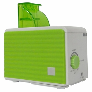 SPT-SU-1053G-Portable Humidifier in Green and White by Sunpentown