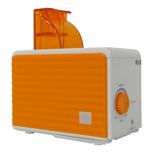 SPT-SU-1053N-Portable Humidifier in Orange and White by Sunpentown