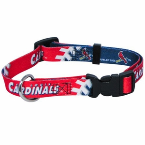 St. Louis Cardinals Dog Collar Medium