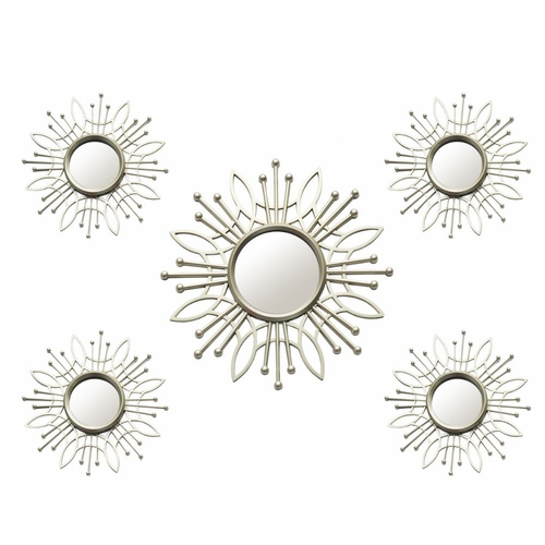 Buy Stratton Home Decor 5 Piece Champagne Burst Wall