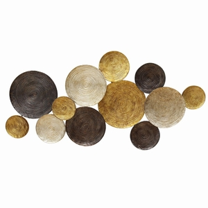 Stratton Home Decor Multi Circles Wall Decor